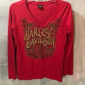 ☀️Harley Davidson long sleeve shirt